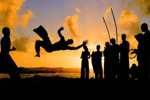 Brasile Giocando Capoeira