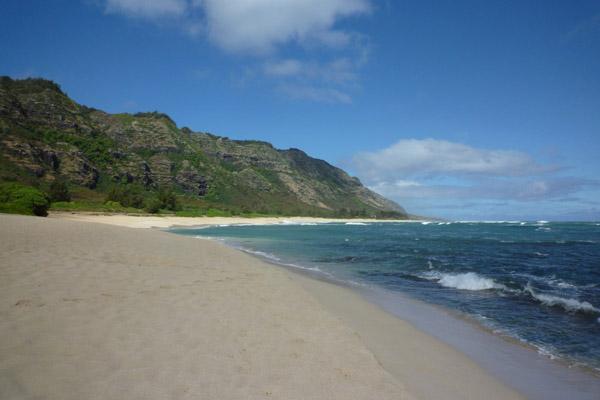 Mokuleia Beach - Oceanic 815 Crash Site