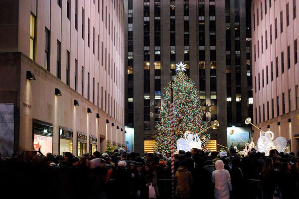 Rockfeller center albero di natale new york